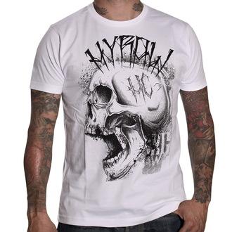 t-shirt uomo HYRAW - Punkshit - White - HY007