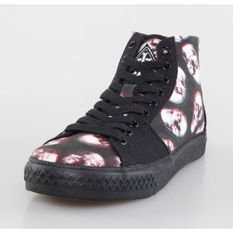 scarpe da ginnastica alte donna - Skull Of Doom Broadway High - IRON FIST, IRON FIST