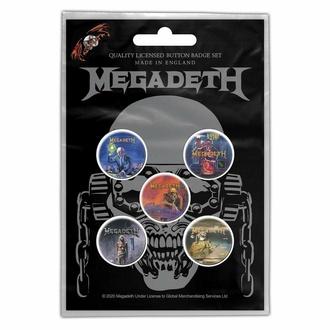 Distintivi MEGADETH - VIC RATTLEHEAD - RAZAMATAZ, RAZAMATAZ, Megadeth