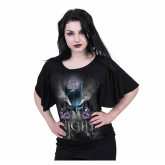 Maglietta da donna SPIRAL - Batman Top - I AM THE NIGHT - Nero, SPIRAL, Batman