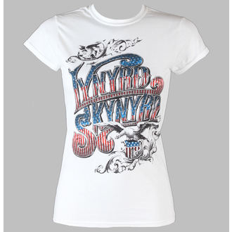 t-shirt metal donna Lynyrd Skynyrd - Usa Flag Logo - LIVE NATION, LIVE NATION, Lynyrd Skynyrd