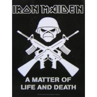 bandiera Iron Maiden HFL 804, HEART ROCK, Iron Maiden