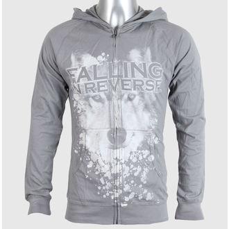 felpa con capuccio uomo Falling In Reverse - Wolf Face - PLASTIC HEAD, PLASTIC HEAD, Falling In Reverse
