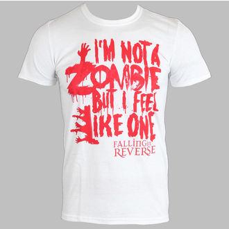 t-shirt metal uomo Falling In Reverse - Zombie (White) - PLASTIC HEAD, PLASTIC HEAD, Falling In Reverse