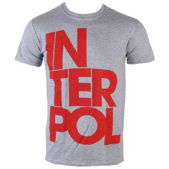 t-shirt metal uomo Interpol - Stacked Logo - PLASTIC HEAD, PLASTIC HEAD, Interpol