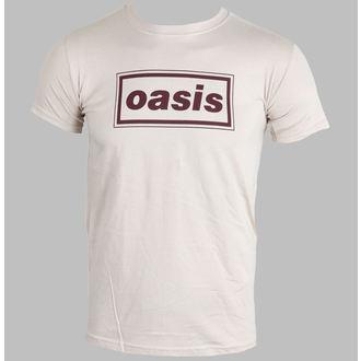 t-shirt metal uomo Oasis - Classic Logo (Brown) - PLASTIC HEAD, PLASTIC HEAD, Oasis