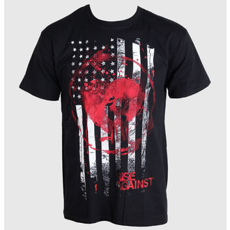 t-shirt metal uomo Rise Against - Stained Flag - PLASTIC HEAD, PLASTIC HEAD, Rise Against