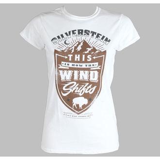 t-shirt metal donna Silverstein - Crestl - PLASTIC HEAD, PLASTIC HEAD, Silverstein