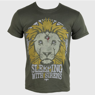 t-shirt metal uomo Sleeping With Sirens - Lion Crest - PLASTIC HEAD, PLASTIC HEAD, Sleeping With Sirens