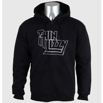 felpa con capuccio uomo Thin Lizzy - Outline Logo - PLASTIC HEAD, PLASTIC HEAD, Thin Lizzy