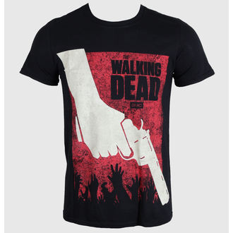 t-shirt film uomo The Walking Dead - Revolver - PLASTIC HEAD