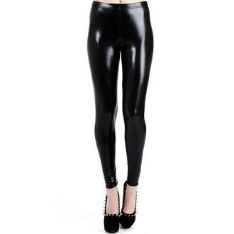 leggings PAMELA MANN - Bagnato Look Leggings - Nero - PM076
