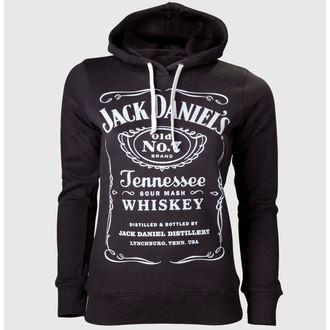 felpa con capuccio donna Jack Daniels - Black - JACK DANIELS, JACK DANIELS
