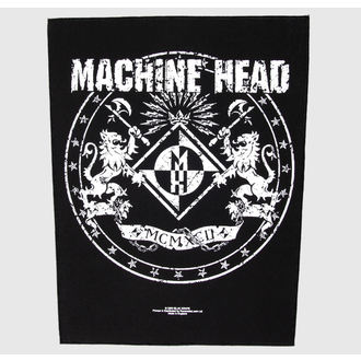 toppa grande Machine Head - Crest - RAZAMATAZ, RAZAMATAZ, Machine Head