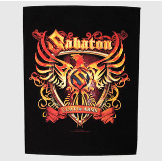 toppa grande Sabaton - Coat Of Arms - RAZAMATAZ, RAZAMATAZ, Sabaton