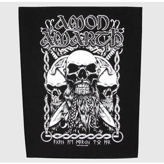 toppa grande Amon Amarth - Bearded Skull - RAZAMATAZ, RAZAMATAZ, Amon Amarth