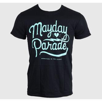 t-shirt metal uomo Mayday Parade - SCRIPT -BLACK - LIVE NATION, LIVE NATION, Mayday Parade
