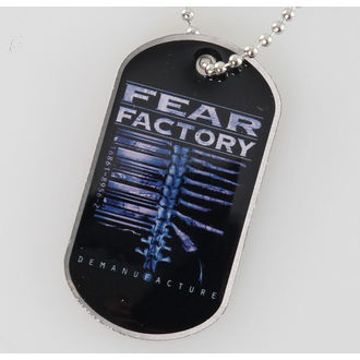 collana ( piastrina) Fear Factory - Demanufacture - RAZAMATAZ, RAZAMATAZ, Fear Factory