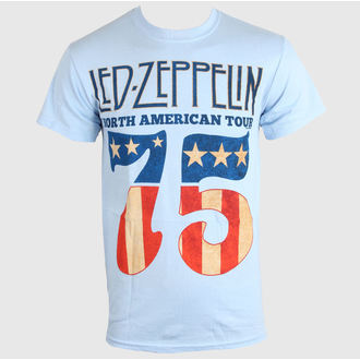 t-shirt metal uomo Led Zeppelin - US 75 - LIVE NATION, LIVE NATION, Led Zeppelin