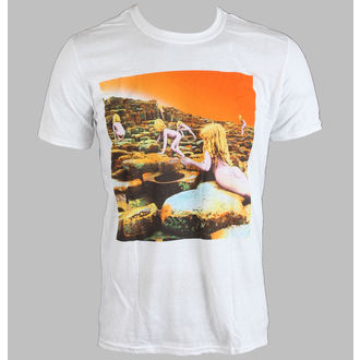 t-shirt metal uomo Led Zeppelin - WHITE HOTH ALBUM COVER - LIVE NATION, LIVE NATION, Led Zeppelin