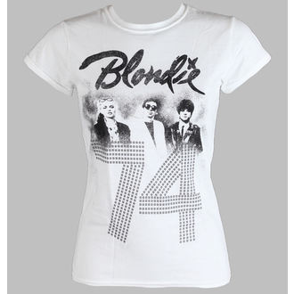 t-shirt metal donna Blondie - SINCE 74 Fitted - LIVE NATION, LIVE NATION, Blondie