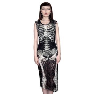 vestito donna KILLSTAR - Skeletor Lace Maxi, KILLSTAR