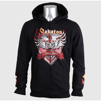 felpa con capuccio uomo Sabaton - First To Fight - CARTON, CARTON, Sabaton