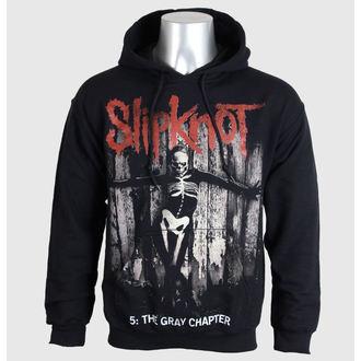 felpa con capuccio uomo Slipknot - 5 The Gray Chapter - BRAVADO EU, BRAVADO EU, Slipknot
