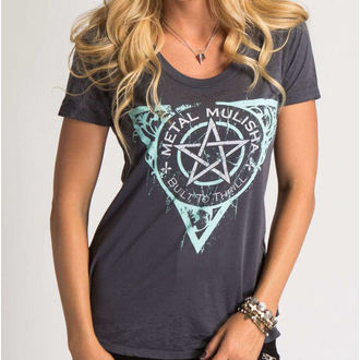 t-shirt street donna - THE FINEST - METAL MULISHA, METAL MULISHA