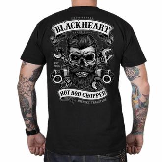 Maglietta da uomo BLACK HEART - RESPECT TRADITIONAL - NERO, BLACK HEART
