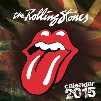 calendario 2015 ROLLING PIETRE, Rolling Stones