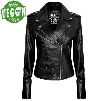 giacca donna (metal) KILLSTAR - Vegan Biker - Nero, KILLSTAR