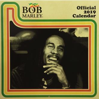 Calendario per anno 2019 BOB MARLEY, NNM, Bob Marley