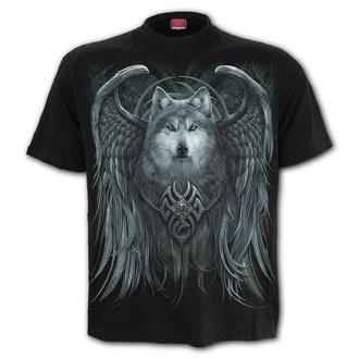 t-shirt uomo - WOLF SPIRIT - SPIRAL - T167M101