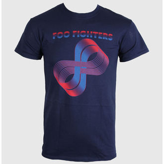 t-shirt metal uomo Foo Fighters - Loops Logo - LIVE NATION, LIVE NATION, Foo Fighters