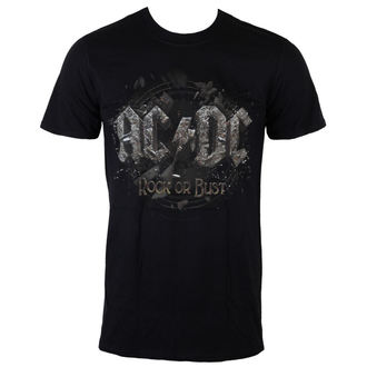 t-shirt metal uomo AC-DC - Rock Or Bust - LIVE NATION, LIVE NATION, AC-DC