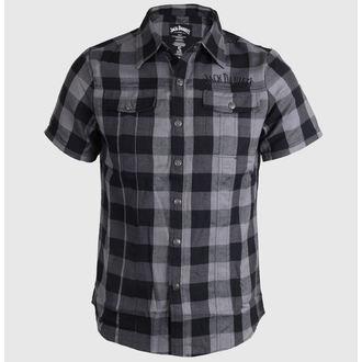 camicia uomo Jack Daniels - Controlli - Nero/Grigio, JACK DANIELS