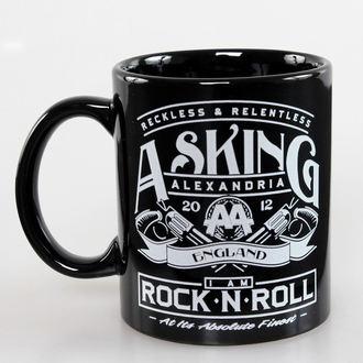 tazza Asking Alexandria - Rock N Roll - ROCK OFF, ROCK OFF, Asking Alexandria