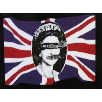 bandiera Sex Pistols - God Salva The Queen, HEART ROCK, Sex Pistols