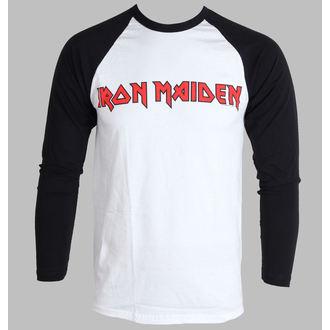 t-shirt metal uomo Iron Maiden - Logo - ROCK OFF, ROCK OFF, Iron Maiden