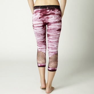 pantaloni donna 3/4 (leggings) FOX - Tie Dye, FOX