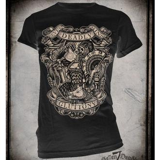 t-shirt hardcore donna - Gluttony - SE7EN DEADLY, SE7EN DEADLY