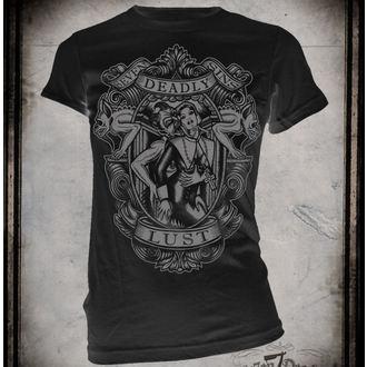t-shirt hardcore donna - Lust - SE7EN DEADLY, SE7EN DEADLY