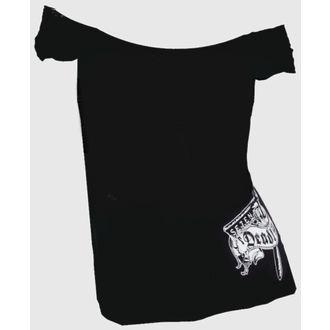 t-shirt hardcore donna - Hells Bidding OffShoulder - SE7EN DEADLY, SE7EN DEADLY