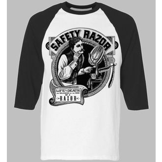 t-shirt hardcore uomo - Safety Razor BaseBall - SE7EN DEADLY, SE7EN DEADLY