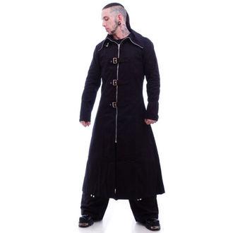 cappotto maschile -primaverile-autunnale- NECESSARY EVIL - Bandito Full Lunghezza - Nero, NECESSARY EVIL