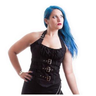 corsetto donna NECESSARY EVIL - Vesna - Nero, NECESSARY EVIL