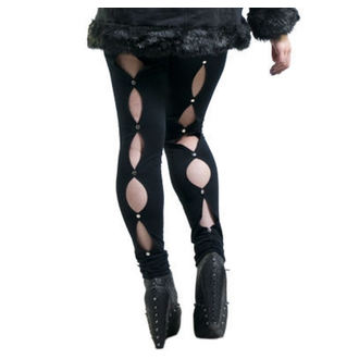 pantaloni donna (leggings) NECESSARY EVIL - Circe - Nero, NECESSARY EVIL