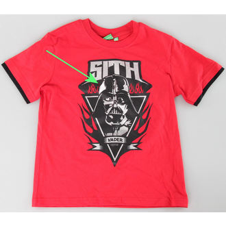 Set fanciullesco ( t-shirt, pantaloncini) TV MANIA - Star Wars Clone - Red - Star 825, TV MANIA