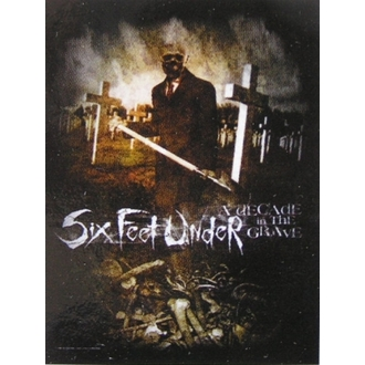 bandiera Six Feet Under - Decennio In The Grave, HEART ROCK, Six Feet Under